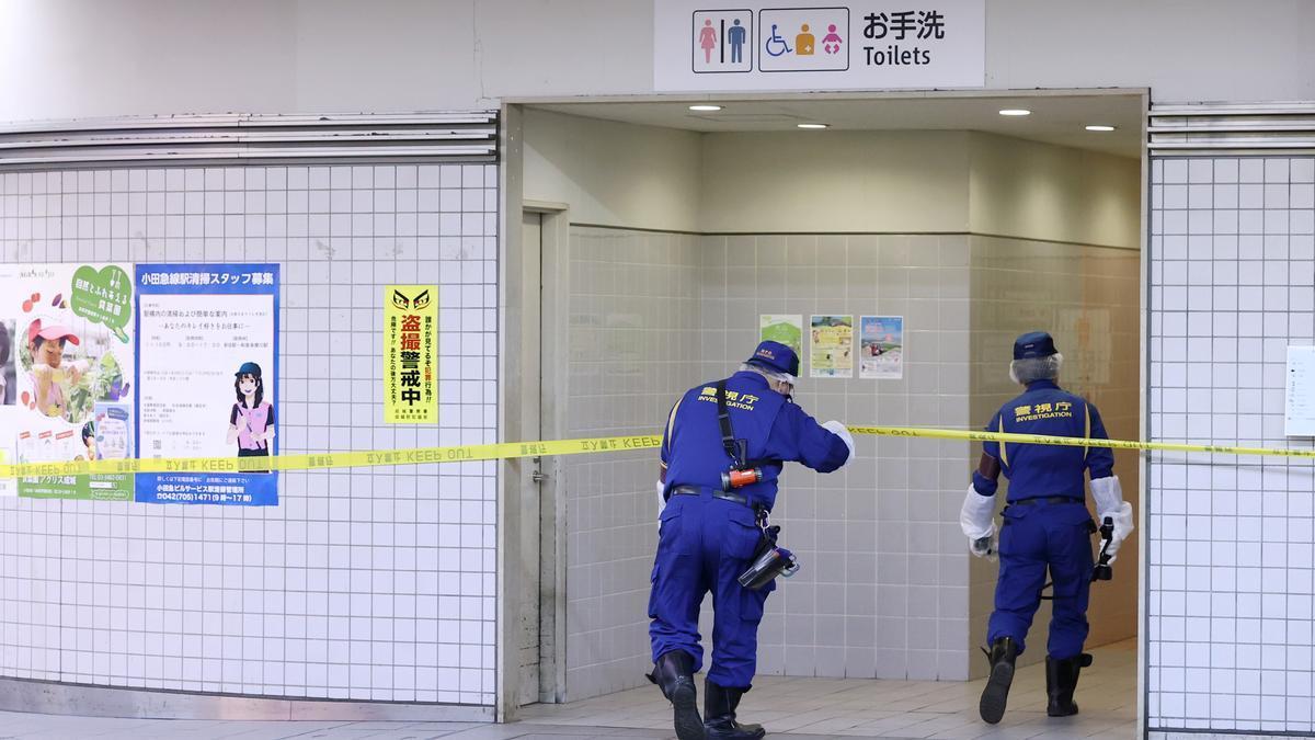 Cuatro heridos en un ataque con cuchillo en un tren de Tokio