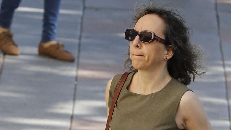 Noelia de Mingo vuelve al psiquiátrico de Foncalent tras ser hospitalizada por una huelga de hambre