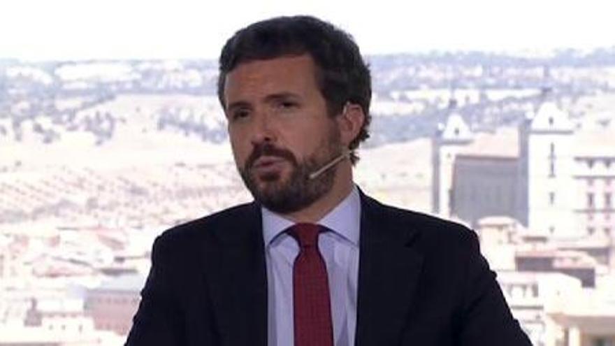 Casado acusa a Sánchez de crear inestabilidad para no cambiar nada