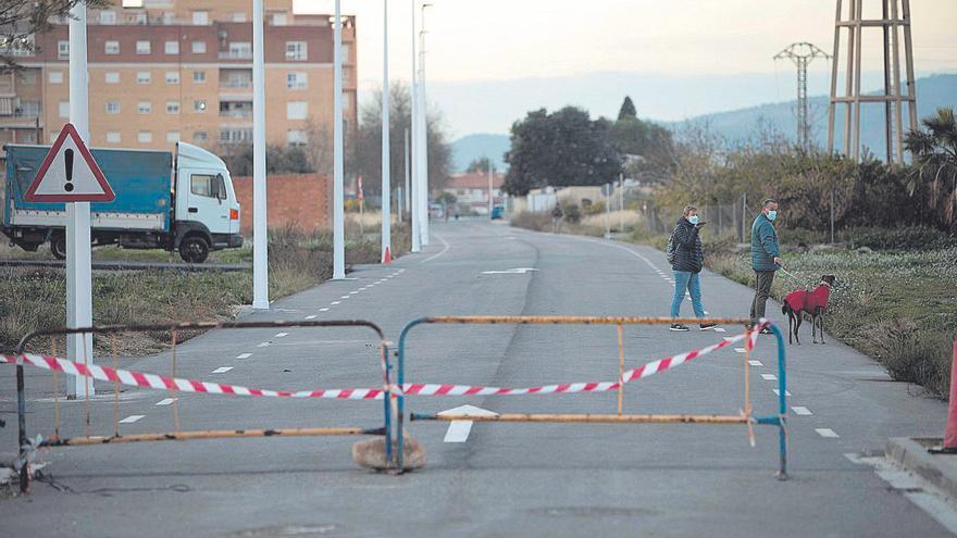 Crece el malestar por los retrasos en abrir la ronda norte del Port de Sagunt