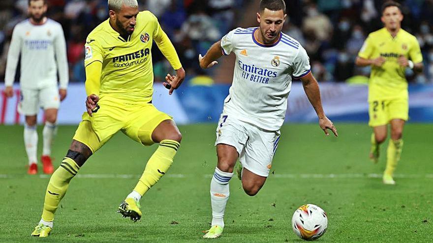 La mala punteria del Vila-real i Courtois donen un punt al Madrid
