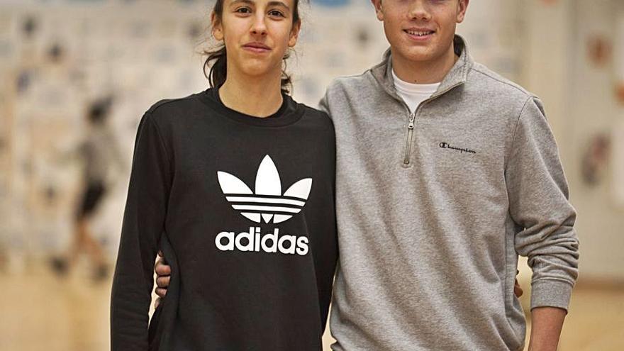 Sergio Prieto y Laura Carracedo disputan el Campeonato de España