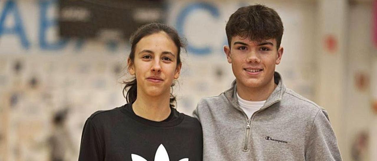 Laura Carracedo y Sergio Prieto.    // BERNABÉ