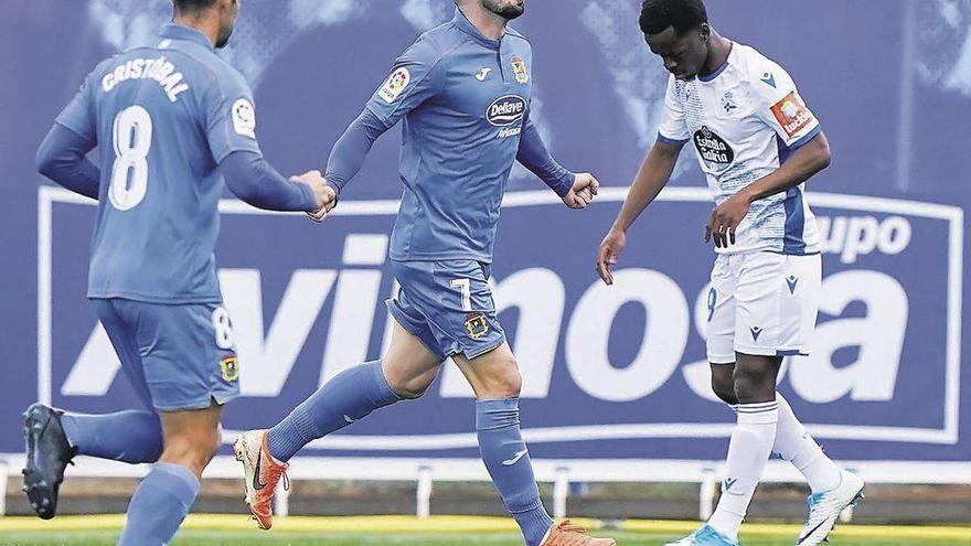 """Hugo Fraile vuelve como """"Pichichi"""" del Fuenlabraba con nueve tantos"""