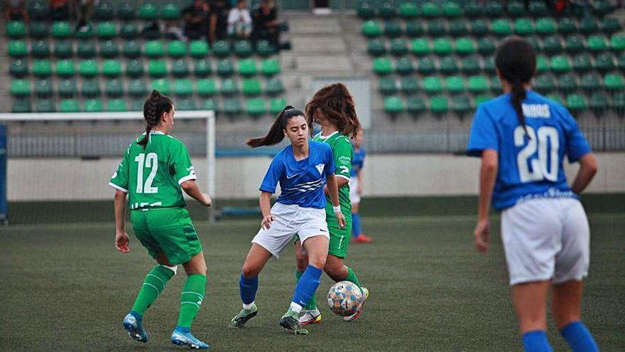 Un golàs d'Elena Alert dona l'empat al CF Igualada femení a Cornellà