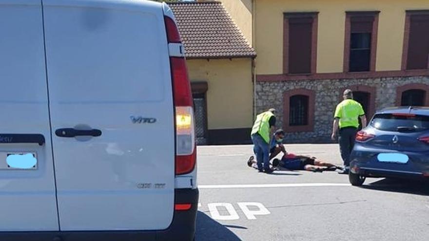 Herido un ciclista de 35 años tras sufrir un atropello en Viella