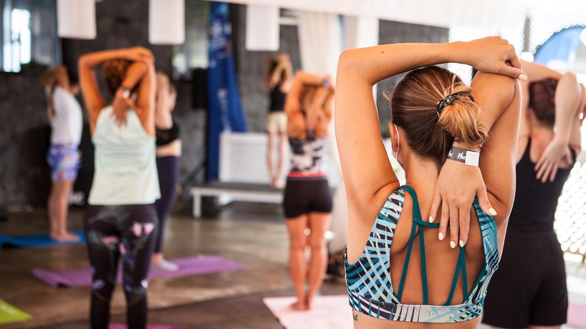 Detalle de las actividades de Phe Yoga.