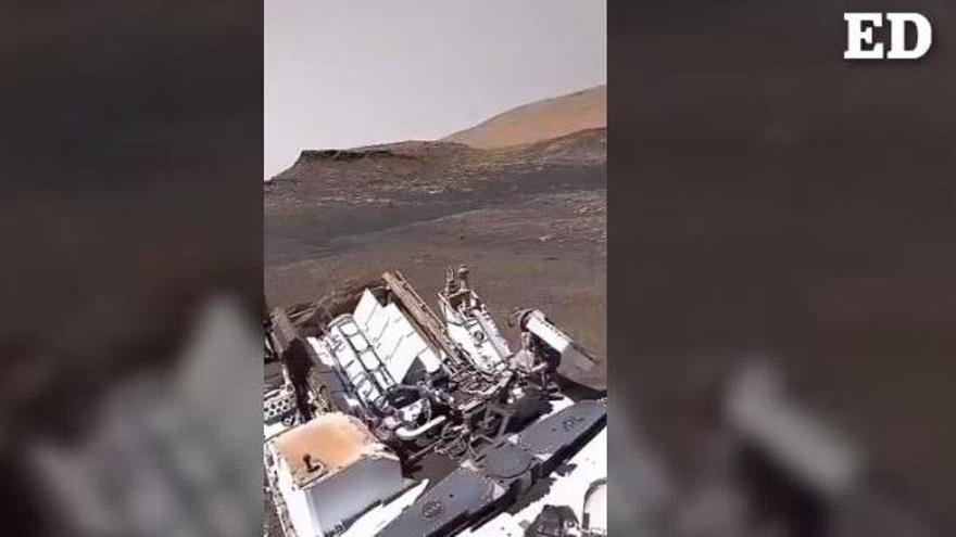 El 'Perseverance' se posa entre Teide y Timanfaya de Marte