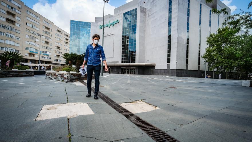 El pavimento de la plaza Conquistadores se renovará con 400.000 euros
