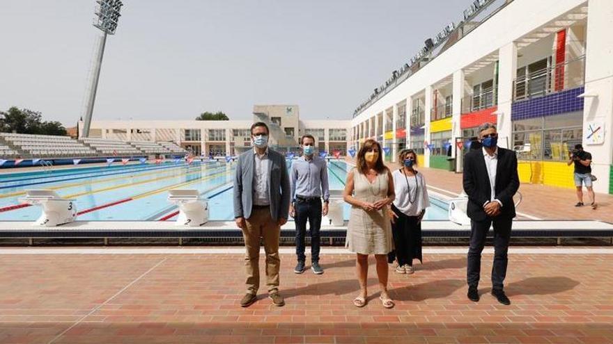 Las piscinas de Son Hugo reabrirán en la segunda quincena de julio