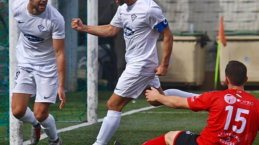 El Silva le endosa cinco goles al Estradense