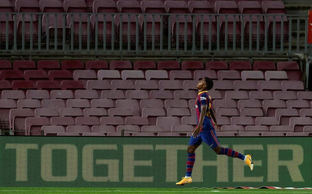 Barça - Vila-Real, en imatges