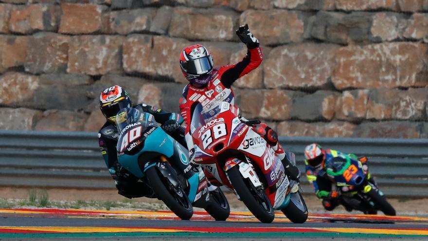 Darryn Binder se lleva la pole en Moto3