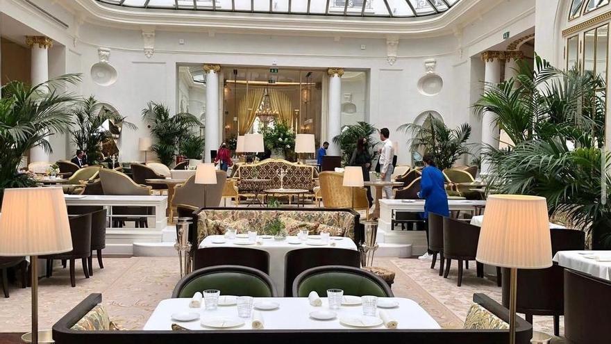 Muebles valencianos para el glamuroso Ritz de Madrid