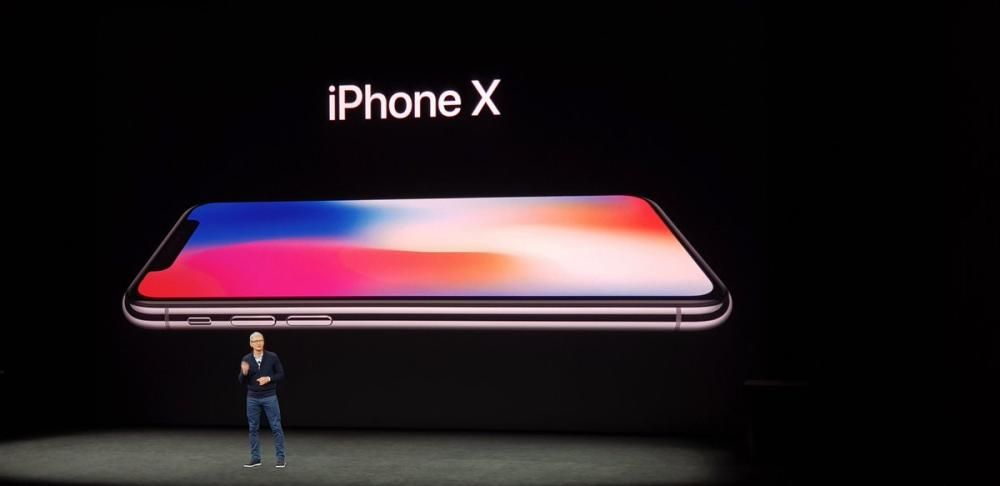 El nuevo iPhone X.