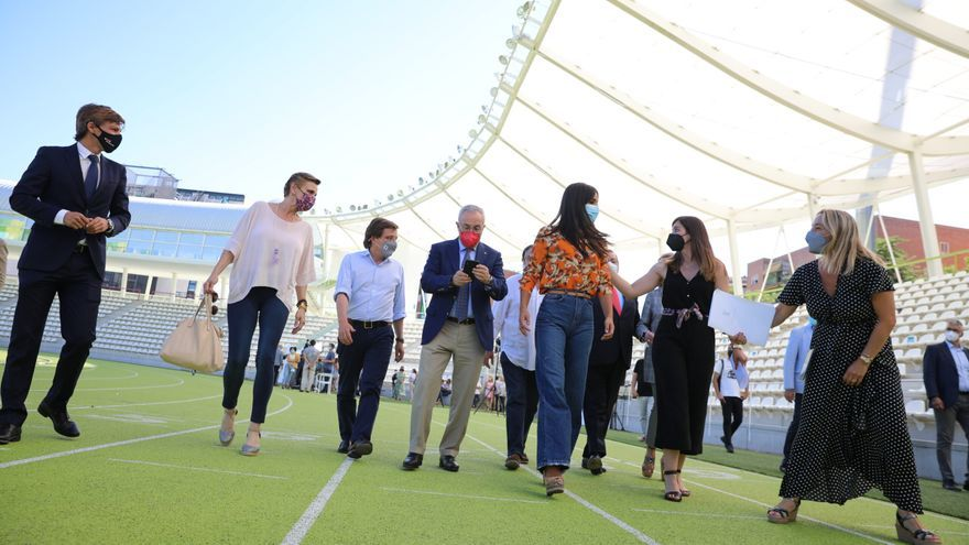 Almeida augura que Madrid albergará unos Juegos en la despedida al equipo olímpico