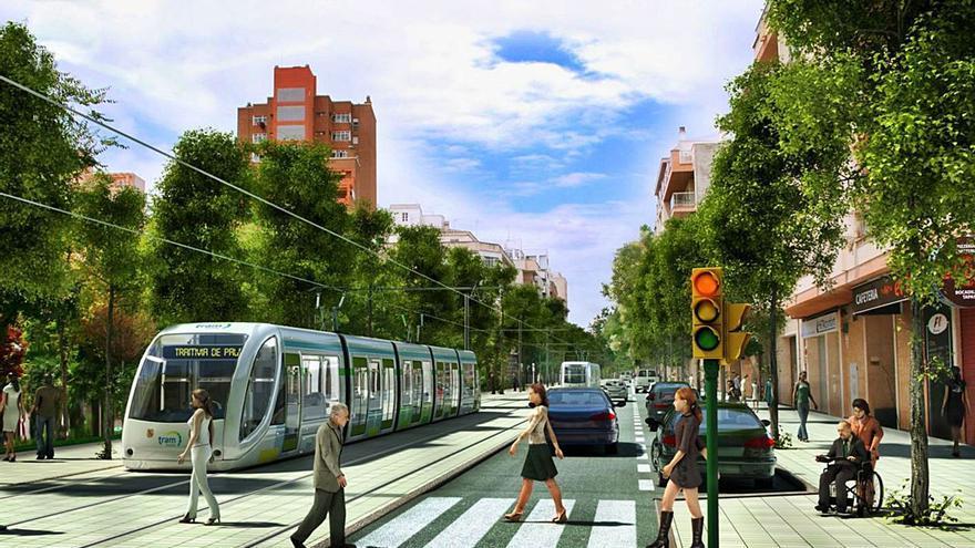 El alcalde asegura que la EMT duplicará su pasaje con la implantación del tranvía