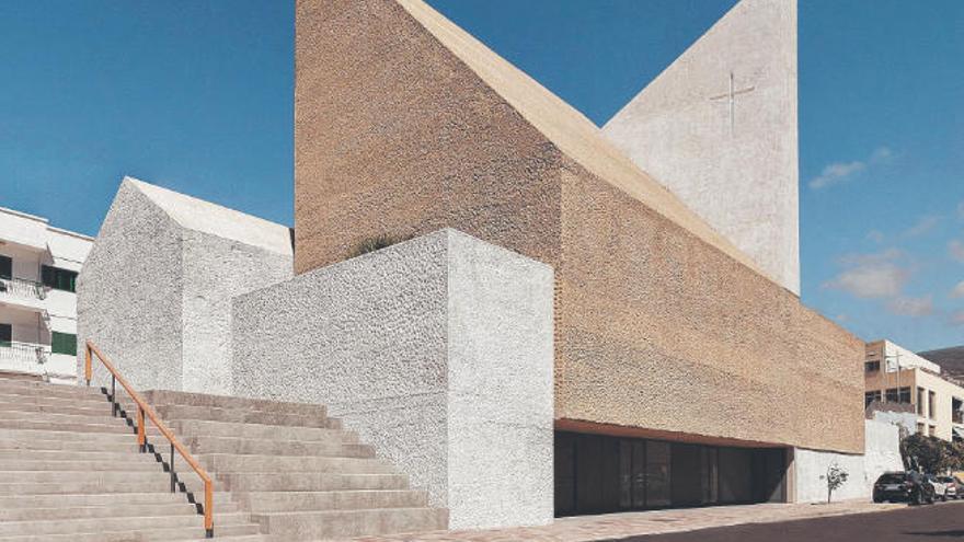 La iglesia de Alcalá, un hito arquitectónico