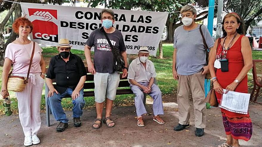Movilización sindical en Ibiza para defender las pensiones públicas