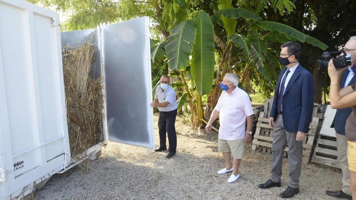 Diez pedanías contarán con un contenedor para restos de poda para evitar quemas