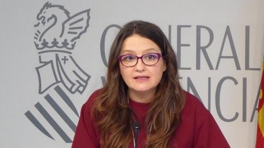 Amenazan en redes sociales a Mónica Oltra