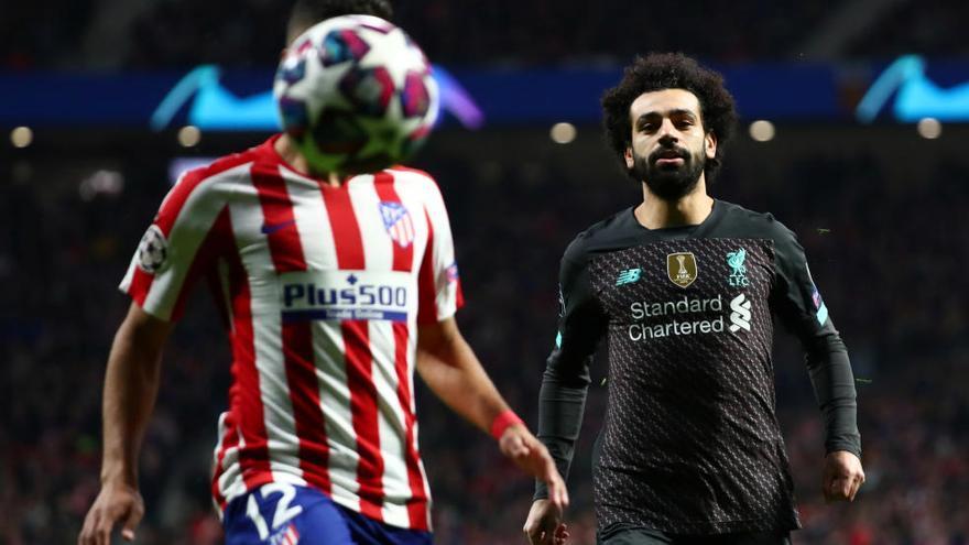 El Atlético resurge en Europa y pone en jaque al Liverpool