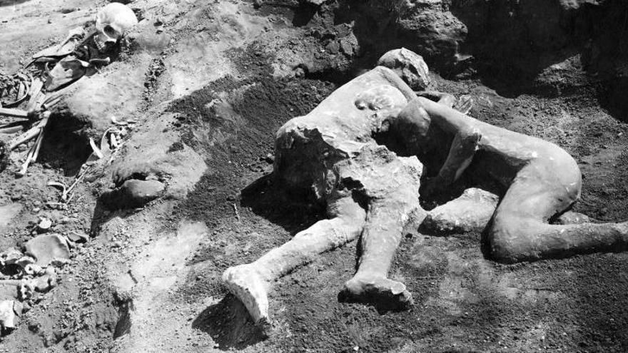 Descubren que los amantes de Pompeya eran dos hombres