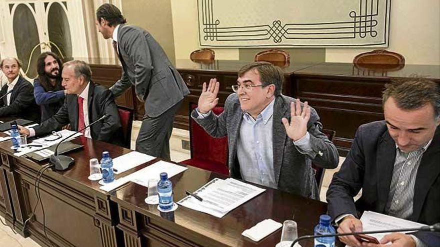 Los diputados de Baleares rechazan actuar como el  PNV o Nueva Canarias