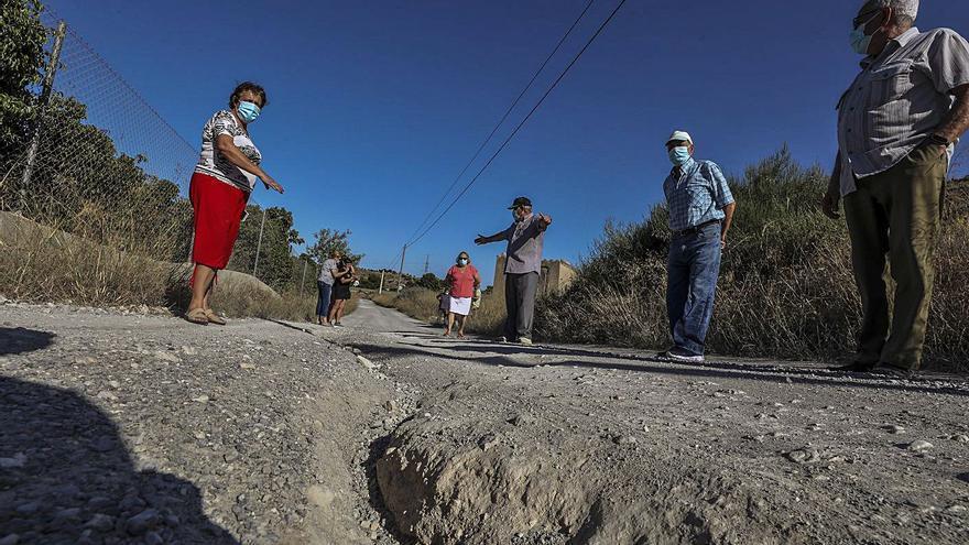 Un suplicio de 700 metros en Santa Ana