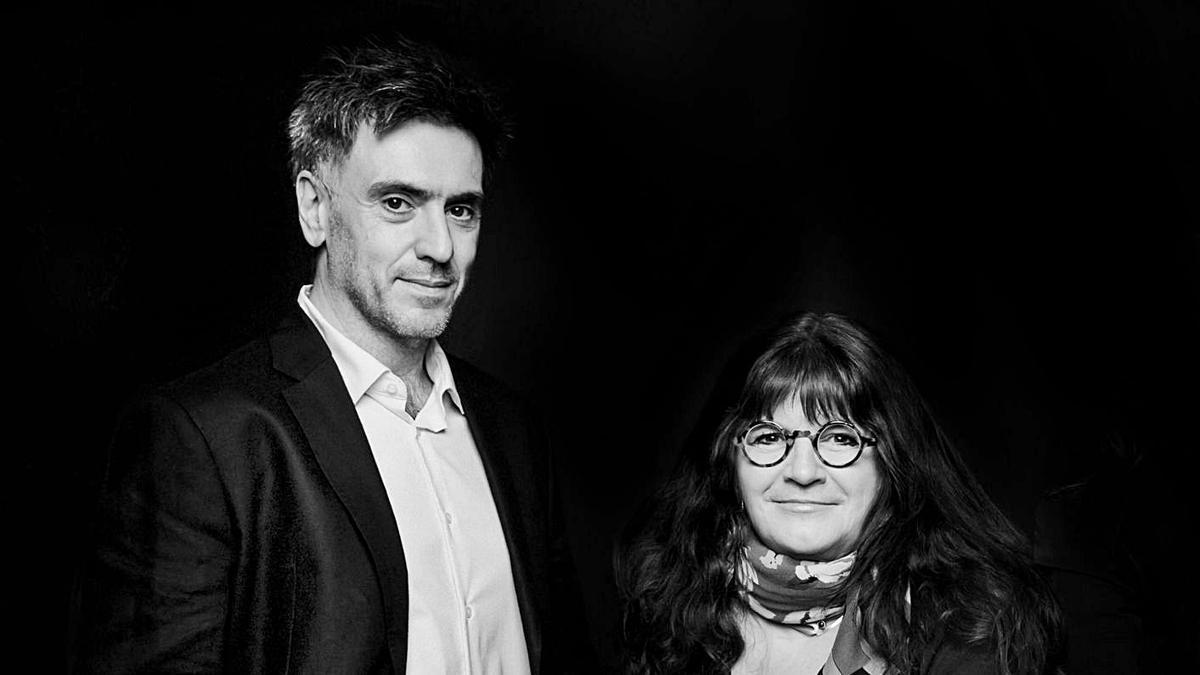 Andrea Cotino y Cristina Casanova, directores de LABA València.