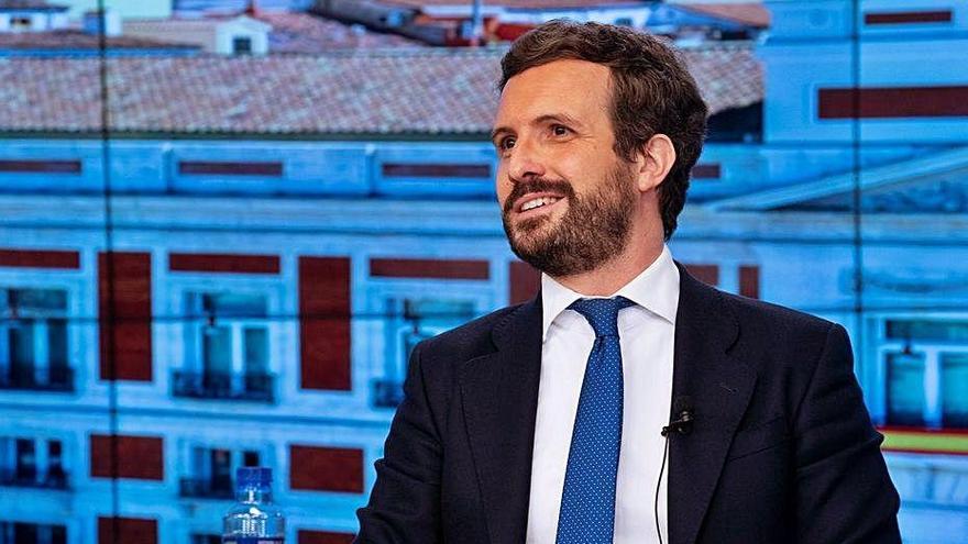 """Casado lamenta que l'independentisme segueixi manant a Catalunya i diu que la legislatura espanyola """"entra en via morta"""""""