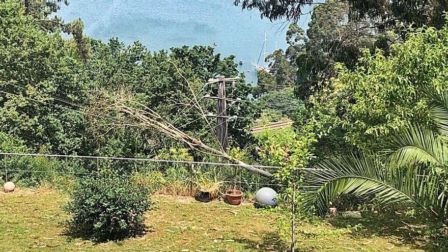Chapela y Trasmañó sufren un corte eléctrico de seis horas