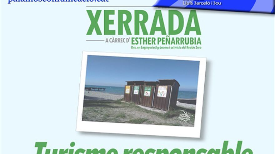Xerrada 'Turisme responsable: viatges i Residu Zero' amb la Dra. Esther Peñarrubia