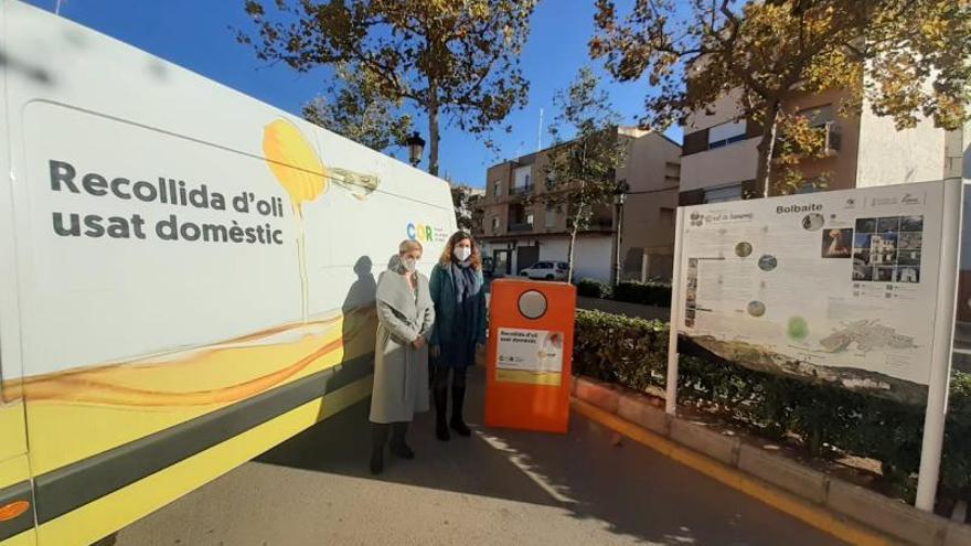 El COR reclama a los alcaldes que instalen contenedores de recogida de aceite doméstico