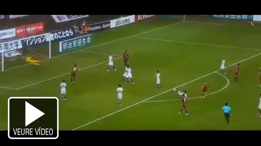 VÍDEO   Segon golàs d'Andrés Iniesta al Japó