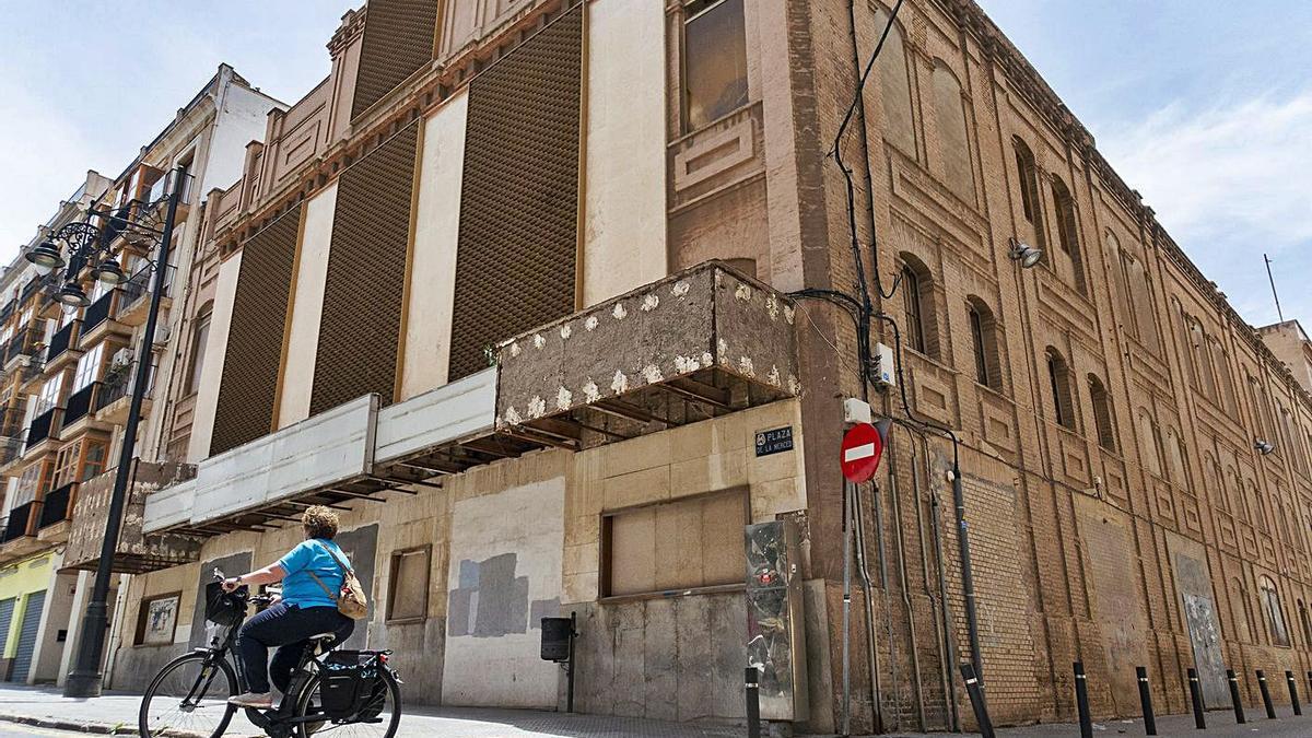 El edificio del Cine Central de Cartagena.
