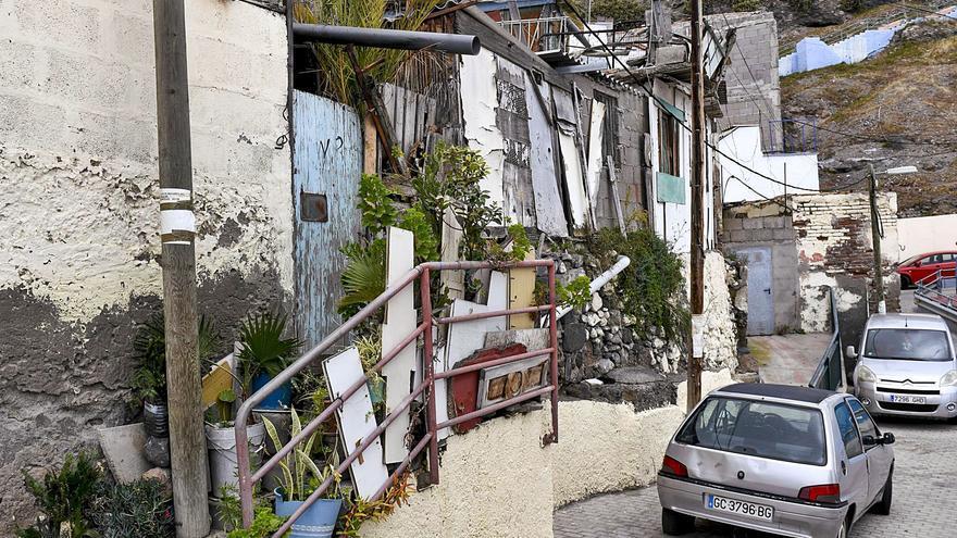 La regeneración del Risco contempla demoler un millar de casas en ruinas