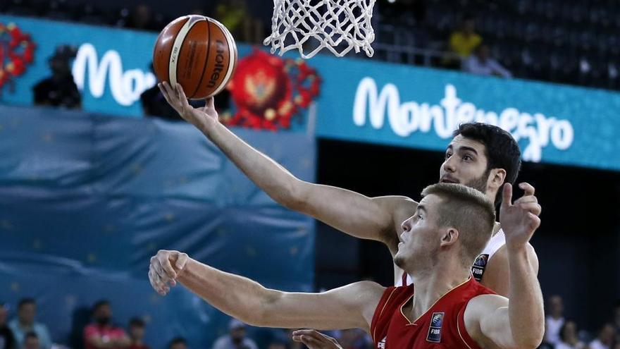 España barre a Montenegro en su debut en el Eurobasket