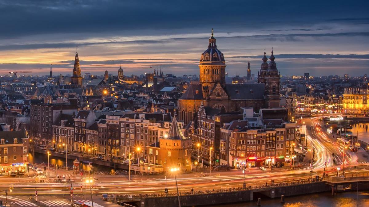 Vista aérea de Ámsterdam / FDV