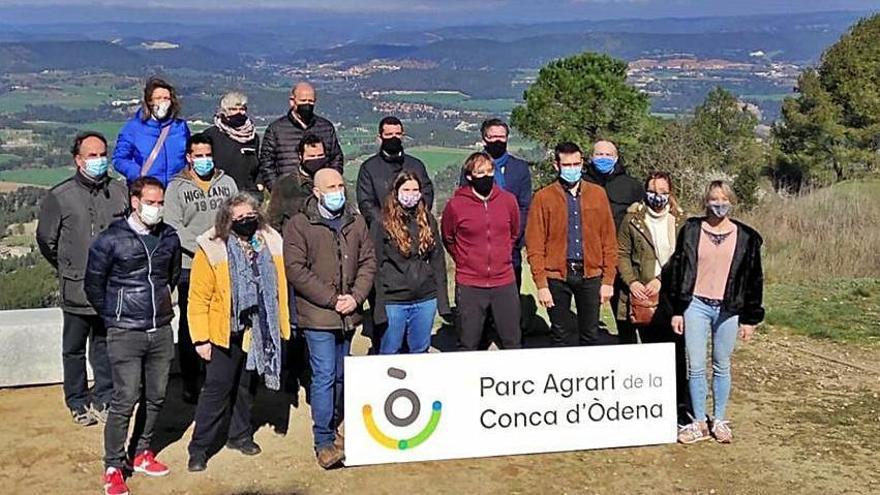 Disset productors de la Conca d'Òdena seran a la primera fira del Parc Agrari