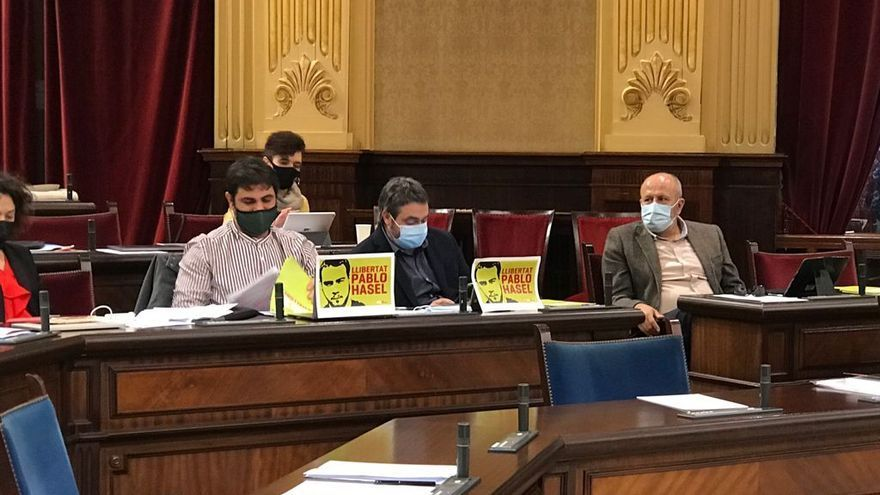 Més pide amnistiar a Valtònyc y Pablo Hasél