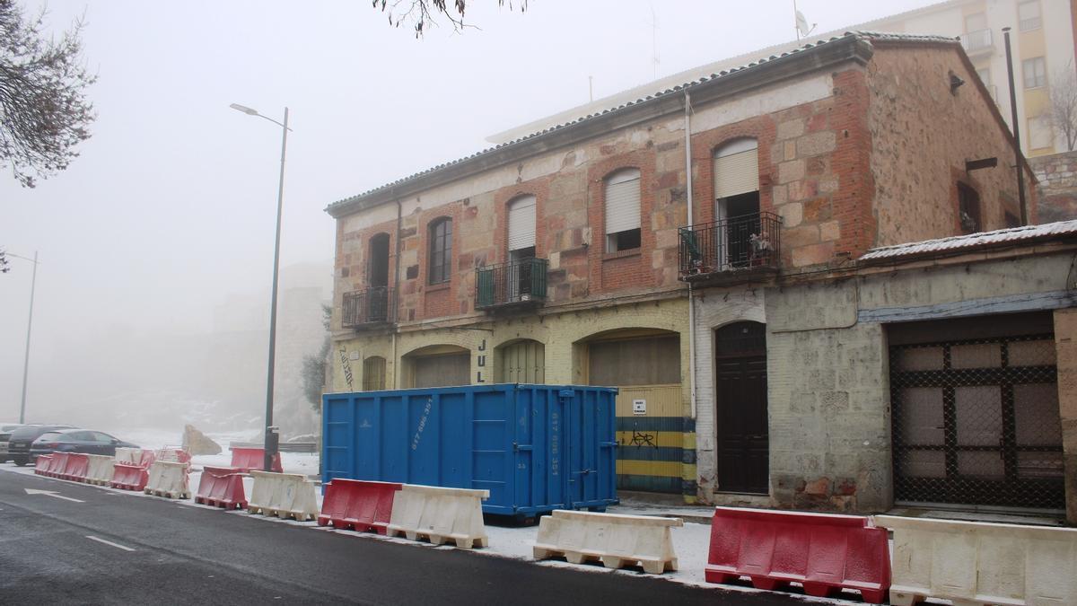 Edificio de la Feria 37 que será derribado.
