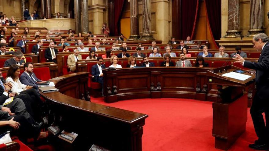 """El Parlament aprueba plantear una """"amnistía"""" si la sentencia del 'procés' es condenatoria"""