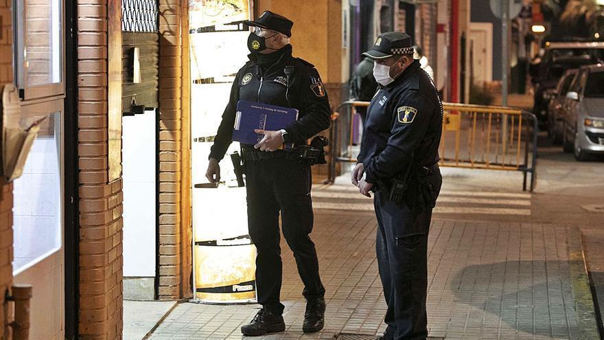 Sagunt blindará sus accesos en fin de semana con refuerzos policiales