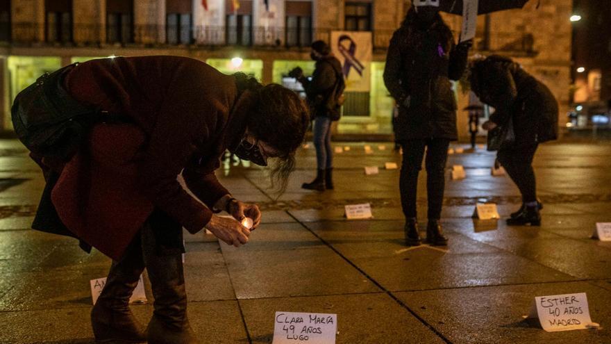 """Zamora se planta contra la violencia de género: """"Ellas somos todas"""""""