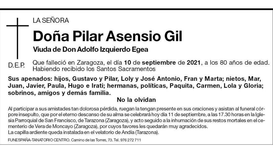 Pilar Asensio Gil