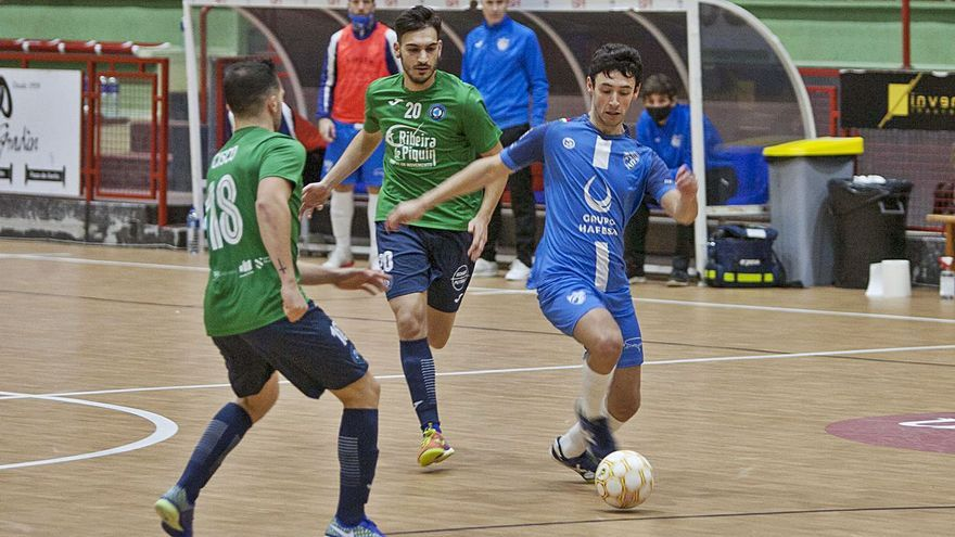 El Inversia A Estrada Futsal recibe al colista Sala Ourense