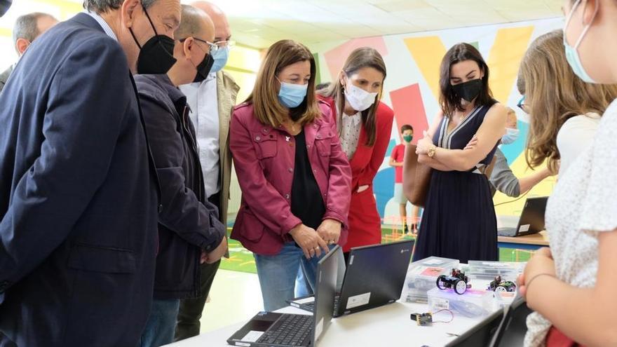El colegio Flor de Azahar de Cártama, centro de referencia andaluz en robótica