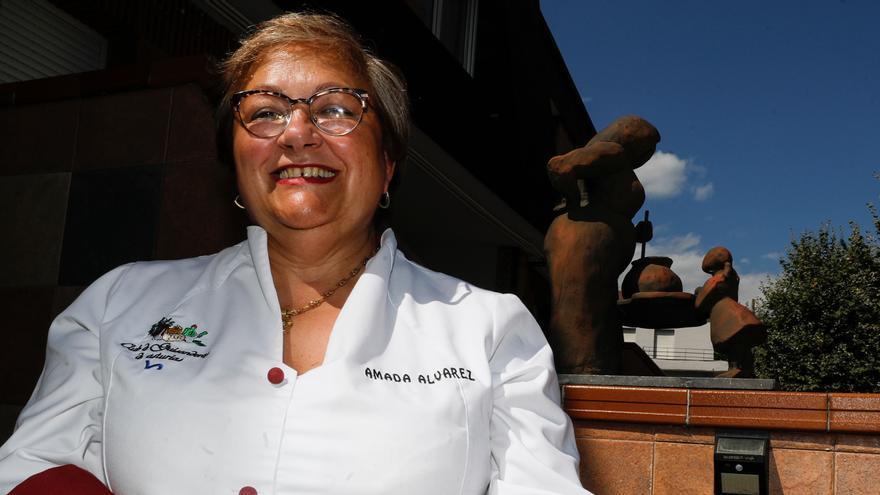 """Amada Álvarez: """"Si fuera un guiso, la distinción sabría a amor y a dedicación"""""""