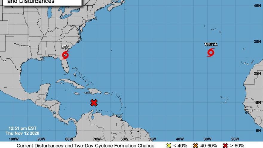Posible temporal marítimo en la Península y Canarias por la tormenta 'Theta'